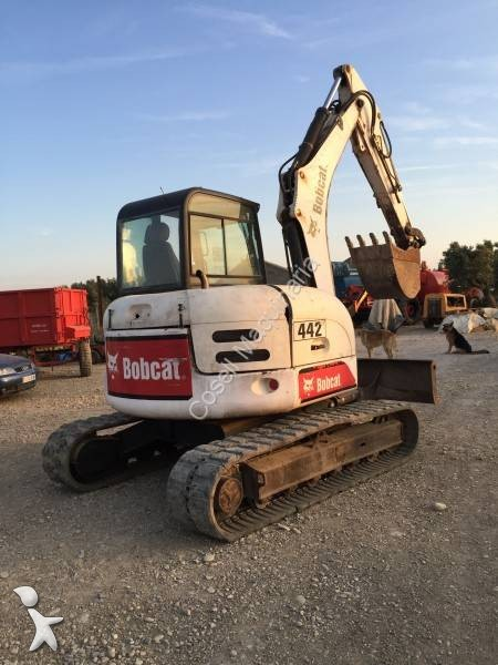mini pelle bobcat 442 occasion