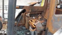 Voir les photos Pelle Bobcat 328G *BRULEE*BURNED*VERBRANNT*