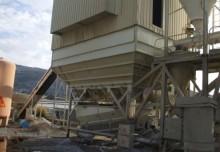 gebrauchter Betonmischanlage