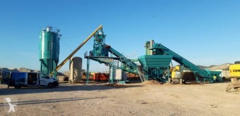 betoniera Elba 100 m3/h FULL AUTOMATIC MOBILE CONCRETE PLANT
