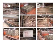 Ceric Complete line for Clay brick / briqueterie d'occasion CERIC,MORANDO,VERDES, 300 a500T/jours (fabrica de ladrios