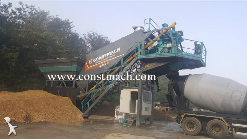 Béton Constmach 30 m3/h ALL IN ONE CHASSIS - MOBILE CONCRETE PLANT