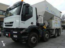 calcestruzzo Iveco TRAKKER AD410T45 8X4 EURO5 PRODUZIONE MALTE E SOTTOFONDI