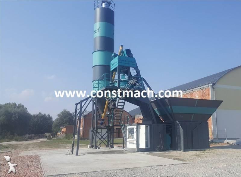 Constmach 20 m3/h COMPACT CONCRETE PLANT concrete