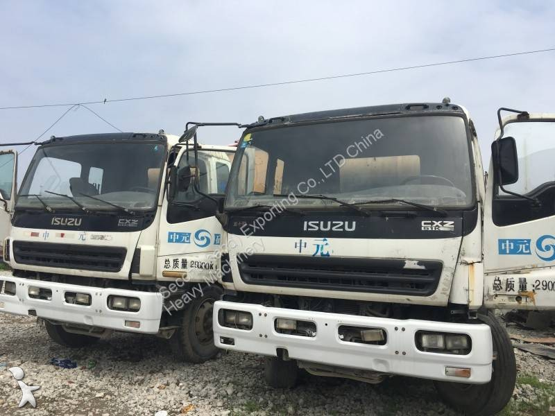 Hormigón Isuzu USED ISUZU Concrete Mixer 8MS 10M3 15M3 12M3