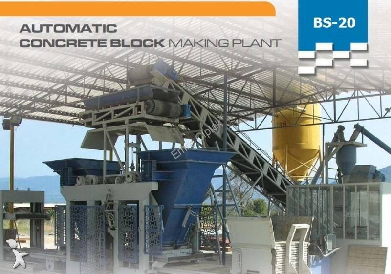 se bilderna Betong Masa CONCRETE BLOCK MACHINE – 10.000 blocks / 8 hours