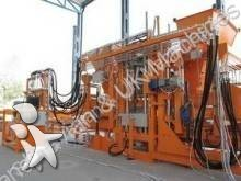 Unità di produzione di manufatti in cemento usato