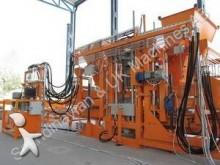 unidade de produção de producto em betão usado