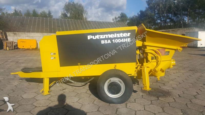 Pompe b ton putzmeister bsa 1004 he occasion n 2331662 - Pompe a teton ...