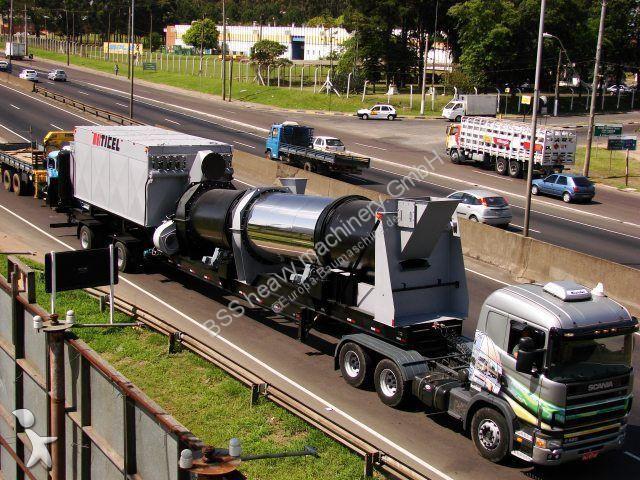 N/a TICEL CF 160 fully mobile asphalt plant concrete