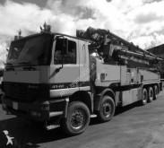 Mercedes concrete pump truck