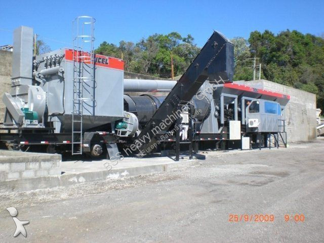 N/a TICEL CF 80.3 MS * fully mobile asphalt plant concrete