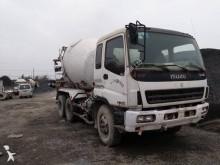 Isuzu concrete mixer