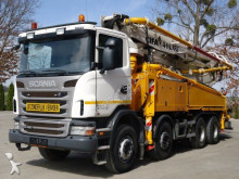 Scania concrete pump truck