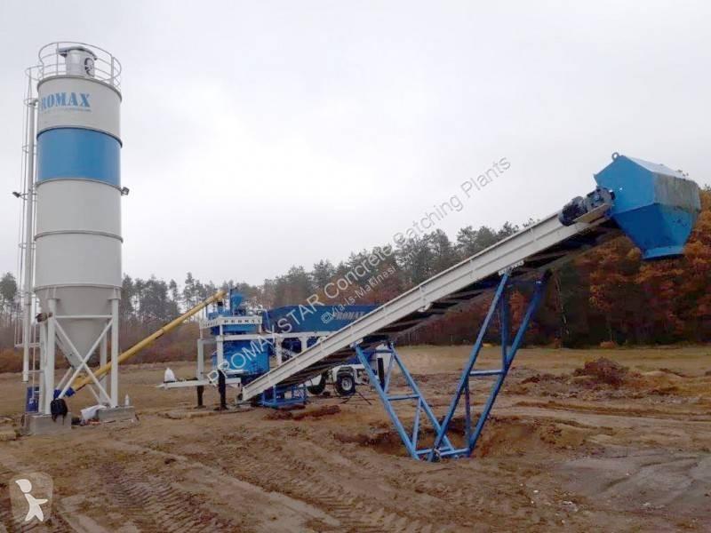 Vedere le foto Calcestruzzo Promaxstar Mobile Concrete Batching Plant  (30m3/h) M30 - PLANETARY MIXER