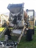 Trimix concrete mixer + pump truck