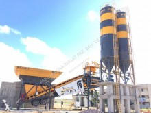 Fabo turbomix-120m3/h mobile concrete batching plant|centrale a beton mobile| full automatic