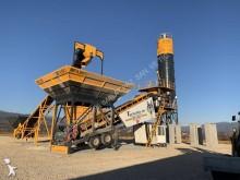 Fabo turbomıx-90m3/h mobile concrete batching plant|centrale à béton mobile|