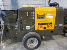 Turbosol concrete pump truck