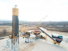 betoniera Fabo turbomix-90m3/h mobile concrete batching plant|centrale à béton mobile|