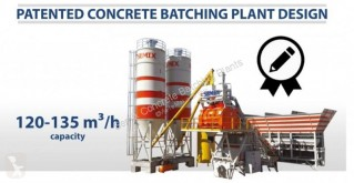 Semix混凝土搅拌车/搅拌机 Mobile 60 m3/h Concrete Batching Plant