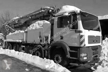 MAN concrete pump truck
