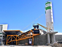 Fabo - CENTRALE A BETON MOBILE TURBOMIX-100M3/H|MALAXEUR DOUBLE neuf