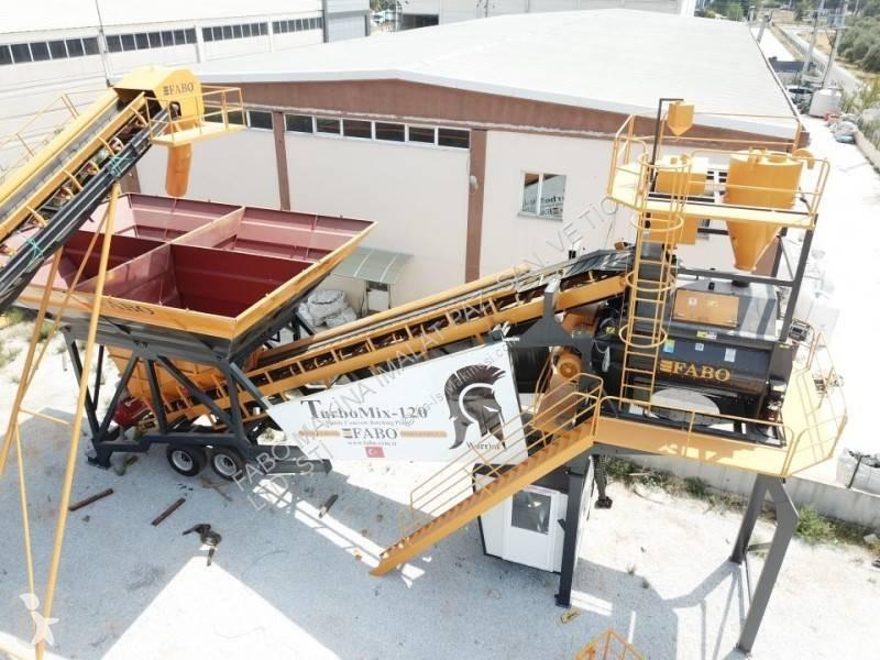 Vedeţi fotografiile Betoniera Fabo  TURBOMIX Mobiles Centrales à Béton Occasion