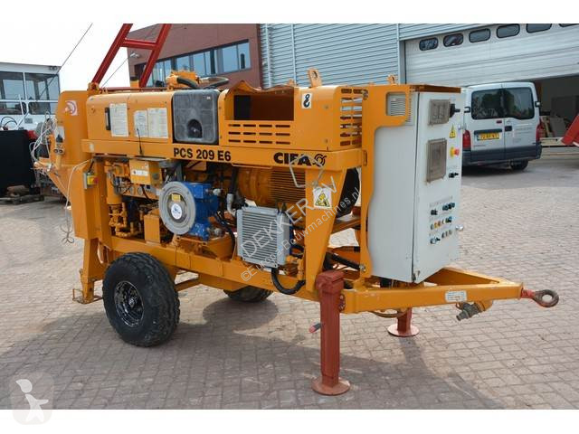 View images Cifa PCS 209 E6 Concrete pump concrete