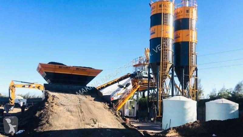 Vedeţi fotografiile Betoniera Fabo TURBOMIX 100 Mobiles Centrales À Béton