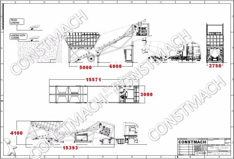 ver as fotos bet�o constmach 30 m3/h all in one chassis - mobile concrete   ver as fotos bet�o constmach 30 m3/h all in one chassis - mobile concrete