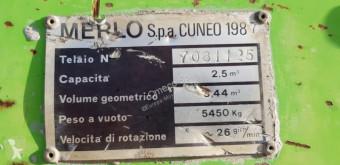 Vedere le foto Calcestruzzo Merlo DBM2500-MP