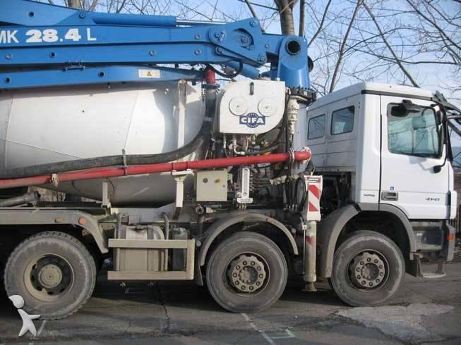 Used Mercedes Concrete Mixer Pump Truck Actros 41 44