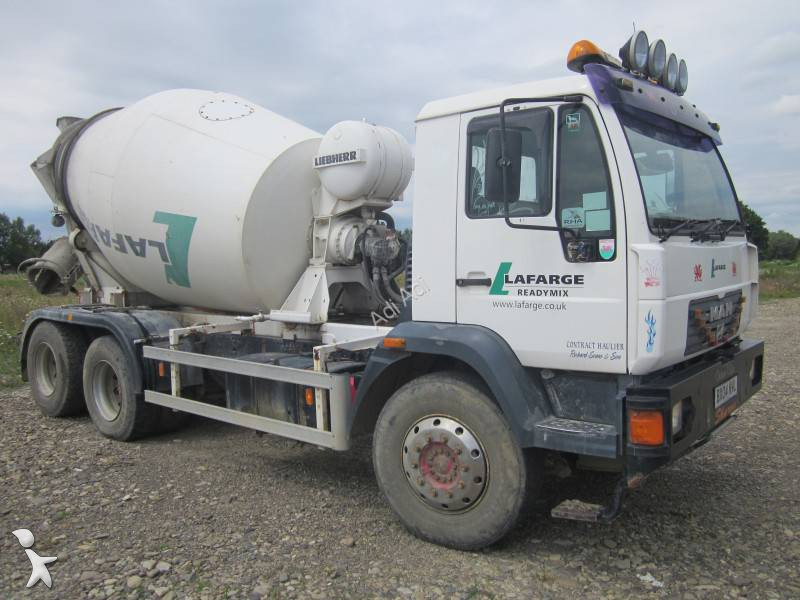 betoniera rotore / Mescolatore MAN 6x4 usata - n°1286619 - Foto 2