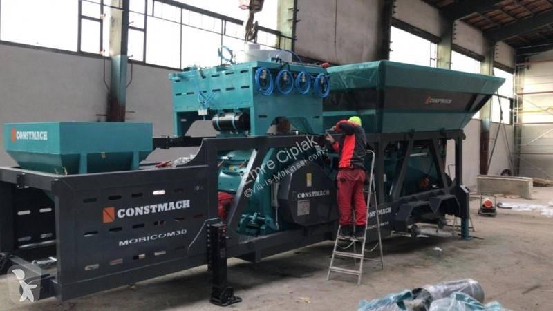 centrale b ton neuve constmach 30 m3 h mobile compact concrete batching plant annonce n. Black Bedroom Furniture Sets. Home Design Ideas