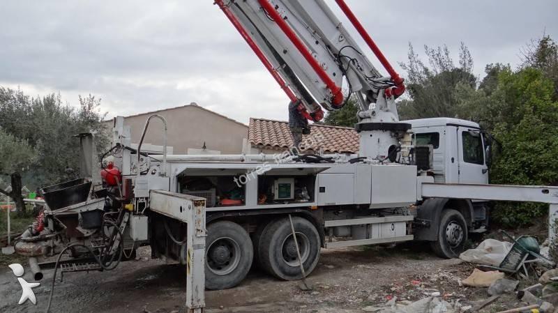 Used mercedes concrete pump truck schwing 34 x n 1869743 - Pompe a teton ...