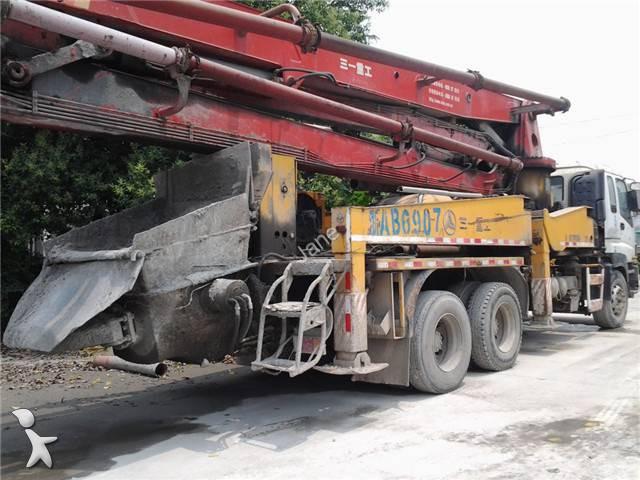 betoniera mescolatore + pompa Sany 5270THB 37 usata - n°1345781 ...