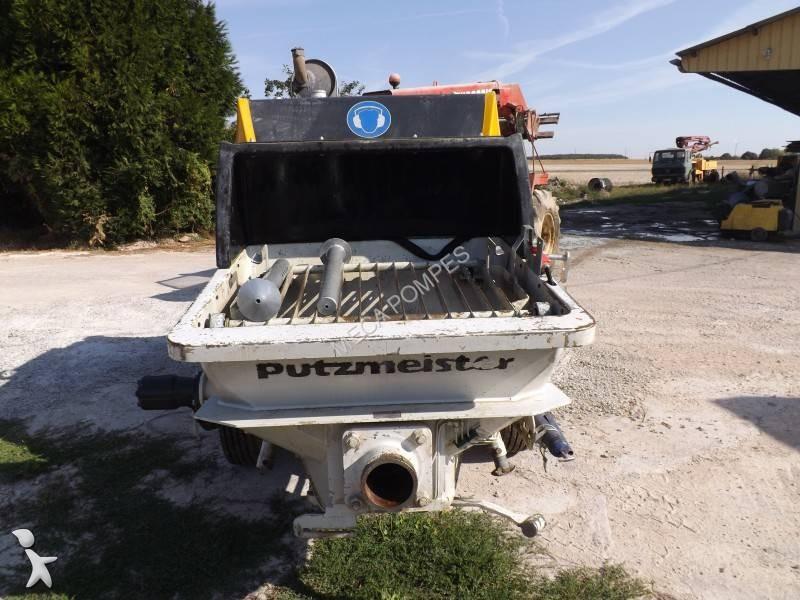 Used putzmeister concrete pump truck bsa 1005d n 1374430 - Pompe a teton ...