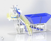 Vedeţi fotografiile Betoniera Promaxstar Compact Skip Concrete Batching Plant (50m3/h) CS50 / Planetary Mixer