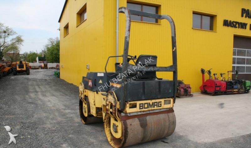 Used Bomag Walk-behind Rollers Bw 135