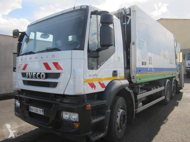 Location camion benne ordures m nag res iveco 260 pac 26 for Location benne a ordure