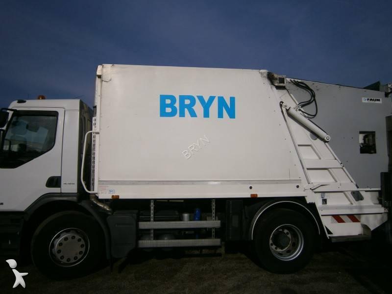 Location camion benne ordures m nag res occasion renault for Location benne a ordure