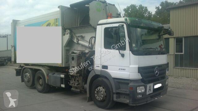 Mercedes ACTROS 2741 L 2541 Seitenlader Rechtsl. EU 5 Strassenreiniger