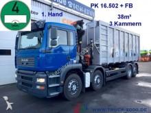 MAN TGA 35.430 Kipper+ Kran Wertstoff-Glas-Recycling