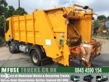 camión volquete para residuos domésticos usado