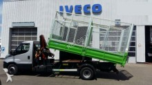 Iveco Daily 72C17, 3 side tipper + HDS , DEALER