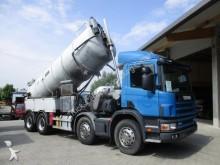 camión limpia fosas Scania