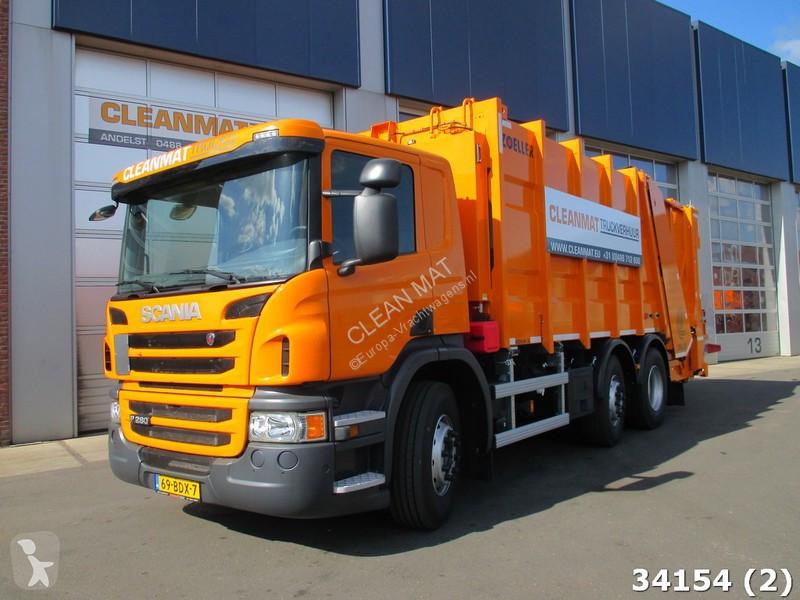 Voir les photos Engin de voirie Scania