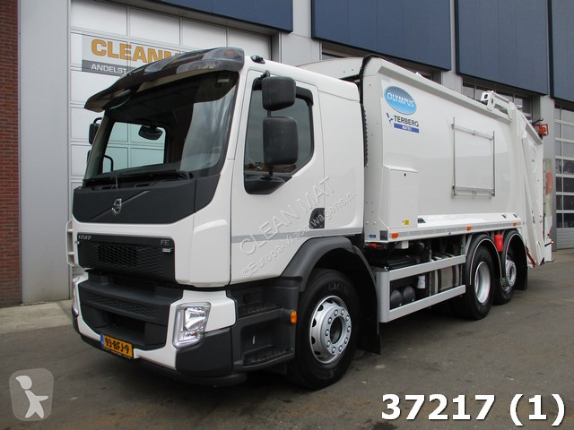 used volvo waste collection truck fe 280 euro 6 6x2 diesel euro 6