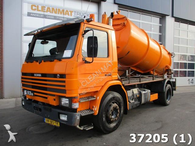 Gemeentevoertuig Scania